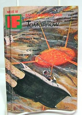 Dec 1967 WORLDS OF IF SCIENCE FICTION Pulp Magazine