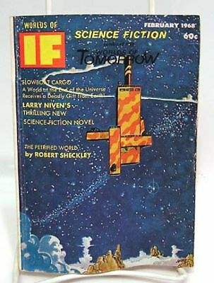 Feb 1968 WORLDS OF IF SCIENCE FICTION Pulp Magazine
