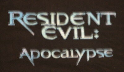 Resident Evil: Apocalypse Movie Promo T-Shirt, LARGE