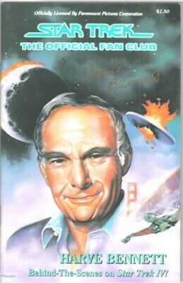 Star Trek Fan Club Magazine #55 Harve Bennett Autograph NEAR MINT