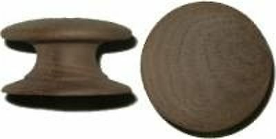 Solid Walnut Knob  With Wide Base  W20387B