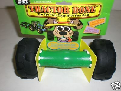 Tractor Bone Dog Toy New In Package