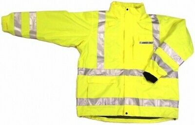 ANSI CLASS 3 SAFETY 3-in-1 JACKET LIME 28-5966 SMALL