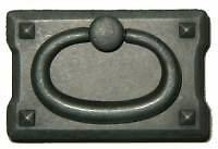Mission Style Drawer Pull Black Finish  Bl0689