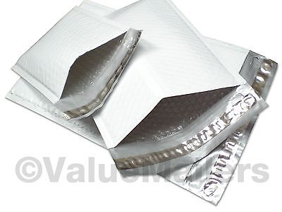 """100 (Poly) CD 6.5""""x8.5"""" Bubble Mailers Padded Envelopes"""