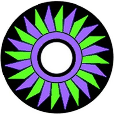 Pinewood Derby Car Wheel Decal Circle of Blades