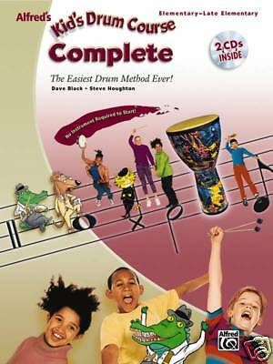 ALFRED'S KID'S DRUM COURSE COMPLETE - BOOK & 2 CDs! 27919