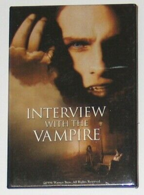 Interview With the Vampire Movie Promo Button Pin 1994