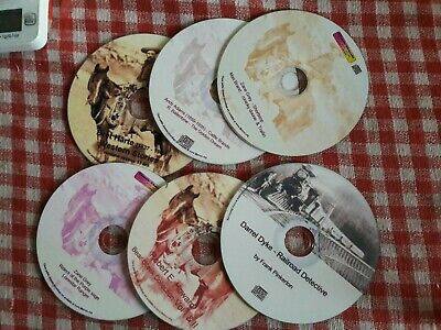 Westerns - 9 audio book Collection on 6 Mp3 CDs