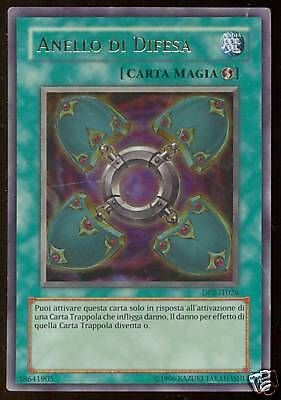 "Anello Di Difesa Dp2-It026 ""ultra Rara"" Yu-Gi-Oh"