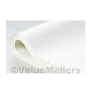 "TISSUE PAPER 20""x30"" ~ WHITE~ 480 large Sheets ~ 1 REAM"
