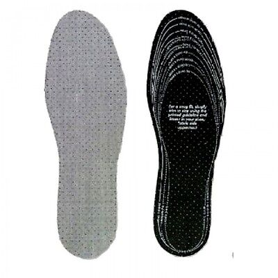 CHARCOAL ODOUR CONTROL Insoles Fit any Size
