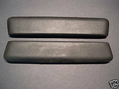 64 65 66 67 Chevelle SS 396 Black front arm rest pads