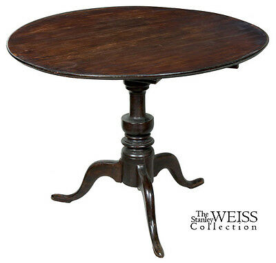 SWC-Cherry Connecticut Dishtop Candlestand, c.1780