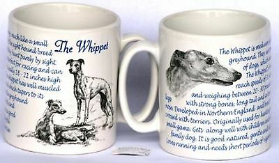 Whippet  Dog Owners Collectable Mug NEW racing Gift