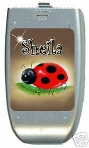 Ladybug Cell Phone And Ipod Decals Personalized
