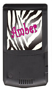 Zebra Cell Phone And Ipod Decals Personalized
