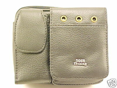 BLACK CELL PHONE / DIGITAL CAMERA POUCH case NEW