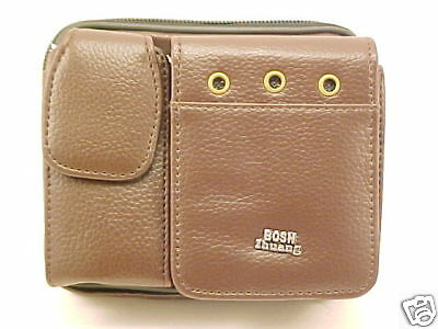 BROWN CELL PHONE / DIGITAL CAMERA POUCH case NEW