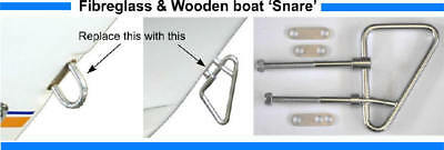Launch and Retrieve Boat Latch -Fibreglass Wooden Boats