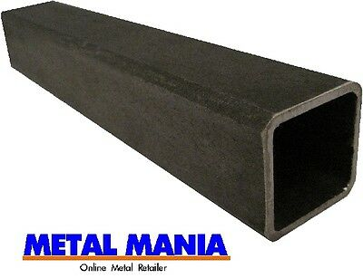 Mild steel box section 50mm x 50mm x 3mm x 2mtr square hollow section steel