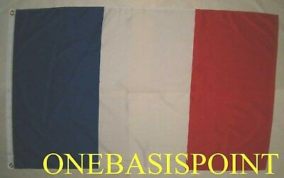 3'x5' France Republic Flag Outdoor Indoor Huge Banner French Paris Europe 3x5