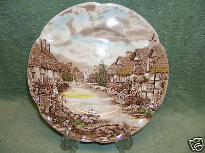 VINTAGE JOHNSON BROTHERS OLDE ENGLISH COUNTRYSIDE PLATE