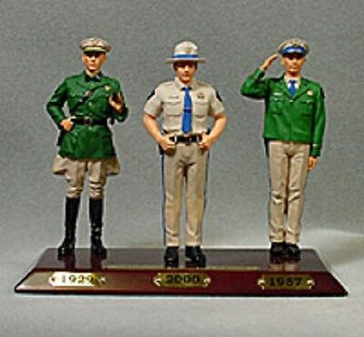CALIFORNIA HIGHWAY PATROL FIGURINES - NEW - COLLECTIBLE