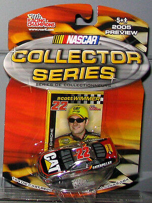 2005 Preview RC  1/64 SCOTT WIMMER #22 CAT CHROME