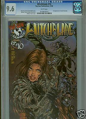 Witchblade #10   (1st Darkness)    CGC 9.6  White Pages