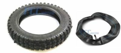 """70//100-19 19/"""" TIRE W// INNER TUBE DIRTBIKE FRONT MOTORCYCLE SCOOTER P TR33"""