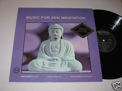 LP/Music for Zen Meditation/Scott/Yuize/VERVE 2332 052