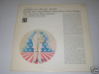 American Brass Quintet/ives/brehm/brant/phillips/lp/rar