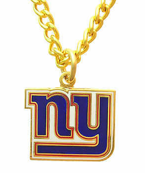New York Giants Nfl Logo Necklace