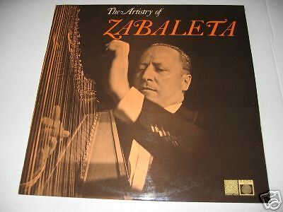 LP/The Artistry of Zabaleta/SAGA STXID 5298/ MEGARAR