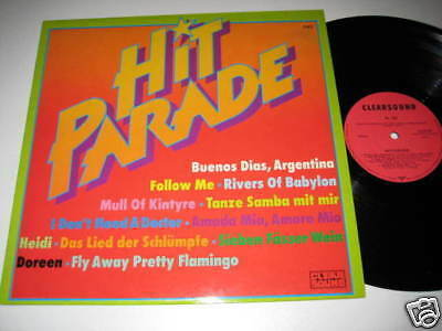 LP/HIT PARADE/Clearsound 543