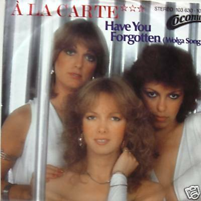 "7"" 80s! A LA CARTE : Have You Forgotten // MINT- \"