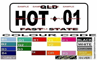 Decal Number Plate Sticker Graphic Signs Decals