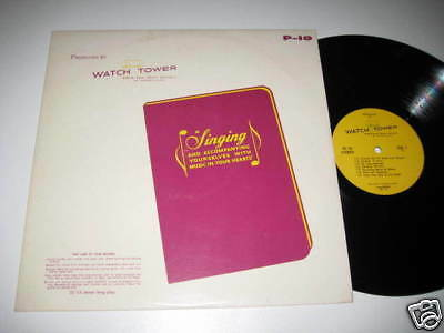 LP/WATCH TOWER/BIBLE and Tract Society/Singing/P-10