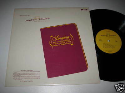 LP/WATCH TOWER/BIBLE and Tract Society/Singing/P-4