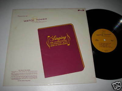 LP/WATCH TOWER/BIBLE and Tract Society/Singing/P-2
