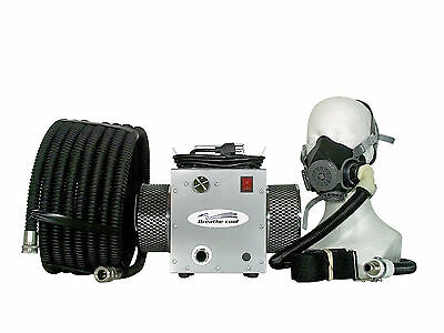 Supplied fresh Air Respirator breathing half 1/2 mask
