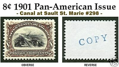 1901 Pan-Am Exposition Issue U.s. #298 Reproduction
