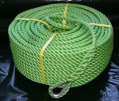 12mm x 100Mtr High Strength P/P Anchor Rope