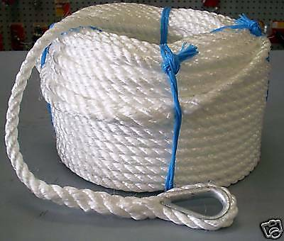 8mm x 50Mtr Silver Anchor Rope