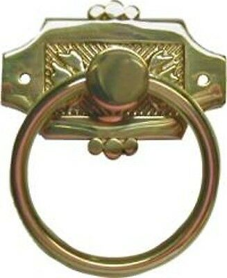 Eastlake Ring Pull - Brass  B1231