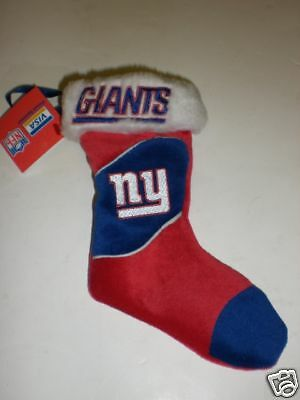 "New York Giants 7 1/2"" Christmas Mini Stocking"