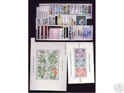 Timbres  Monaco  Annee  Complete   Luxe  1991 ++++