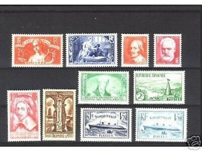 Timbres  Annee  Complete  France Neuf  Luxe  1935 +++