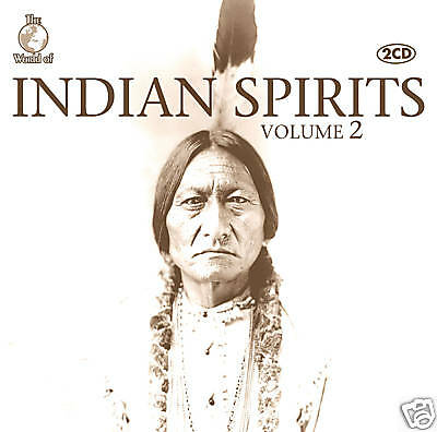 CD Indian Spirits 2 Indianermusik    The World Of   2CDs